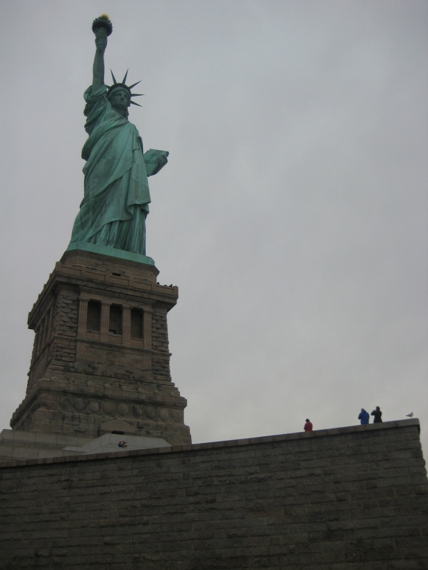 Check out the size of the people on the first level of the pedestal. I mean, it was hard to wrap your mind around.