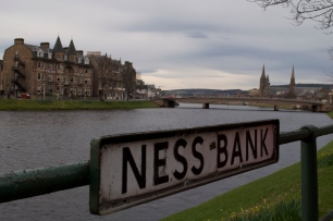 Yup, that Ness. Loch Ness is just south of Inverness.