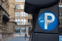 More campaign stickers in Glasgow