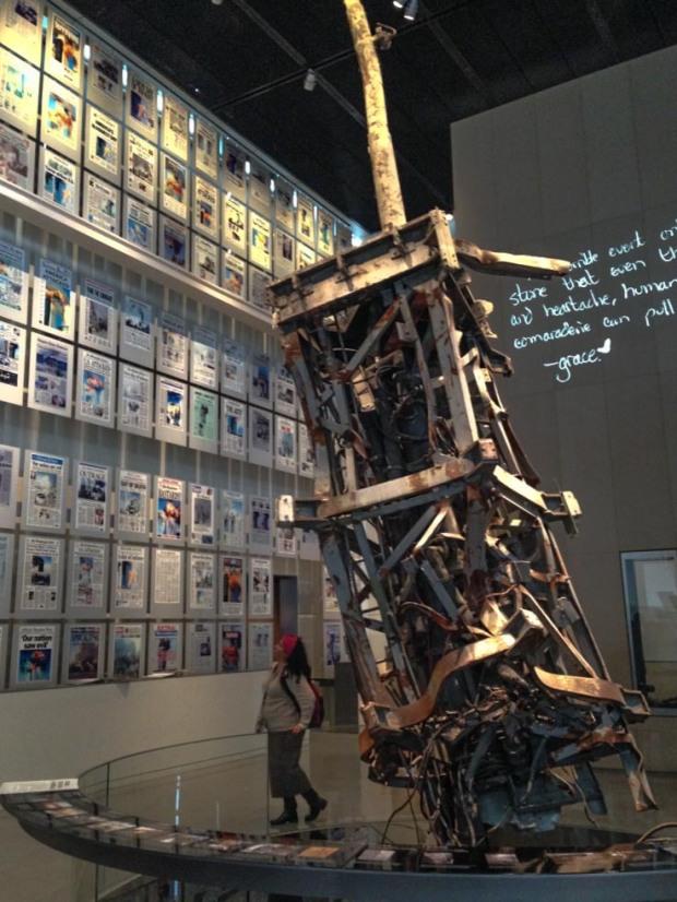 9/11 exhibit Newseum