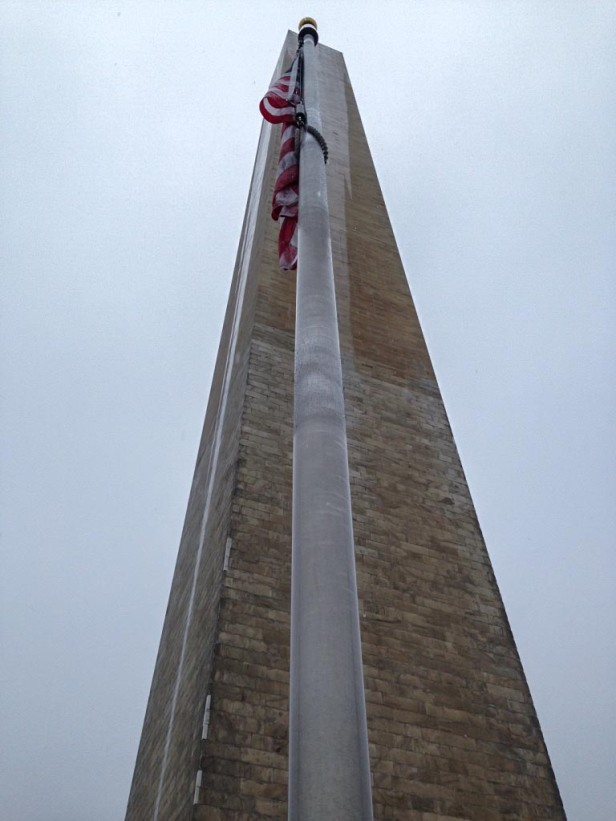 Washington Monument flag