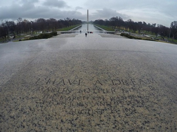 Lincoln Memorial MLK