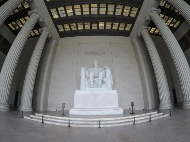 Lincoln Memorial inside