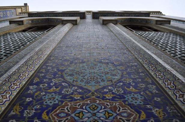 Dubai mosque detail