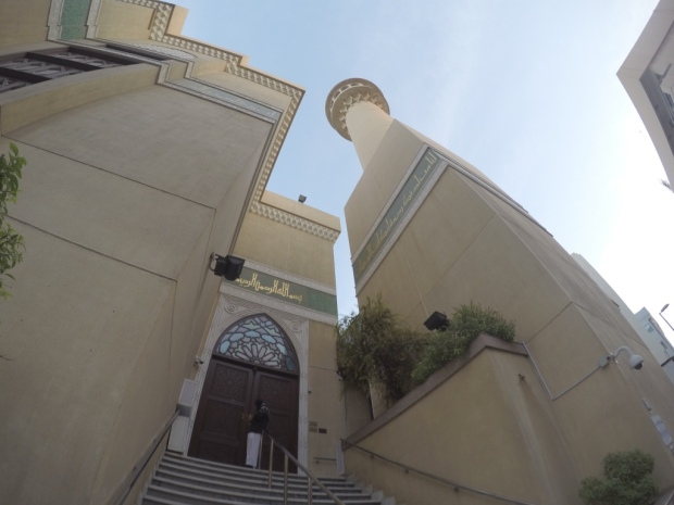 fisheye mosque