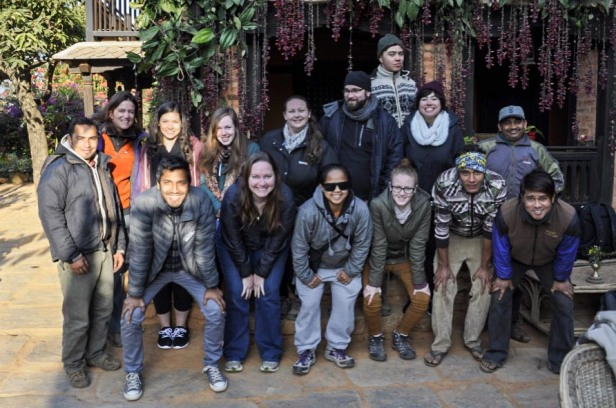 Nepal travel family