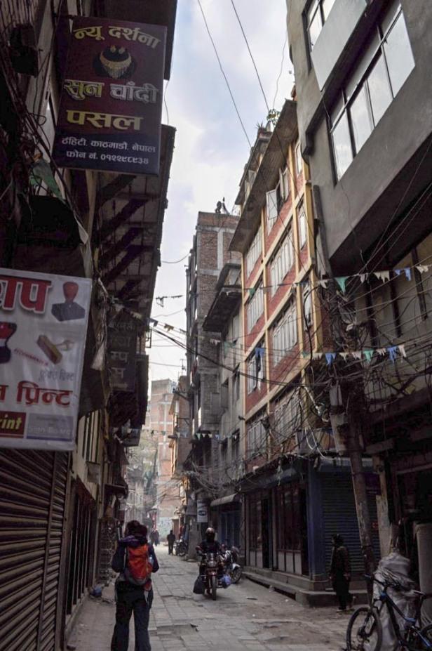 wandering around Kathmandu